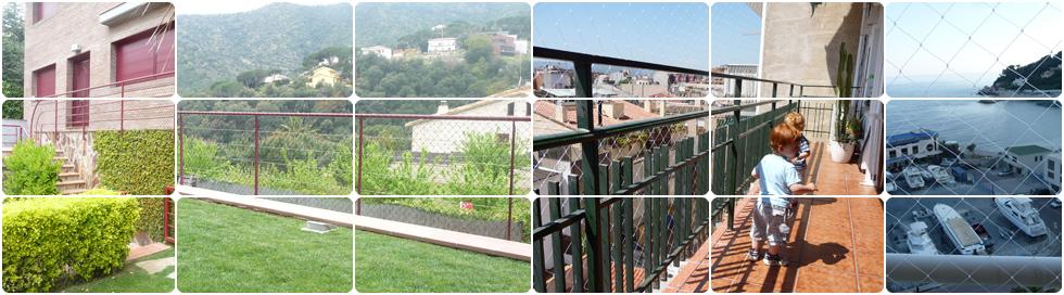 proteccin para balcones escaleras entrepisos y ventanas